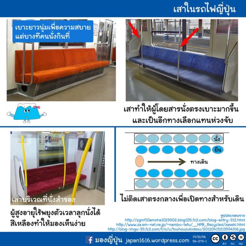 56-073 pole in train เสาในรถไฟ
