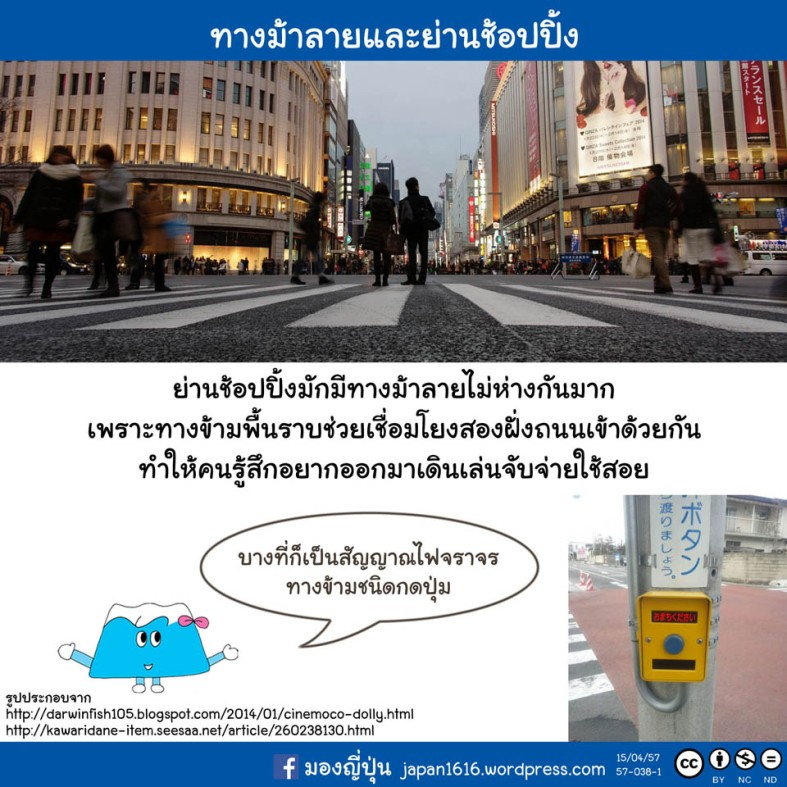 57-038 pedesetrian crossing shopping street
