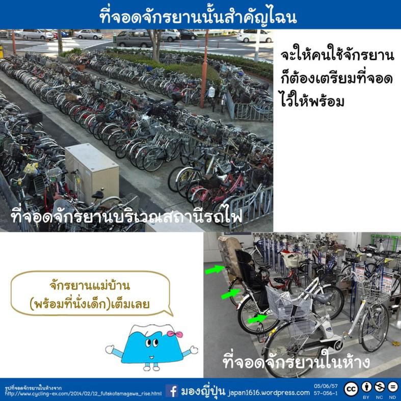 57-056 bicycle parking lot