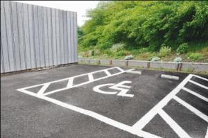 57-a wheelchair parking